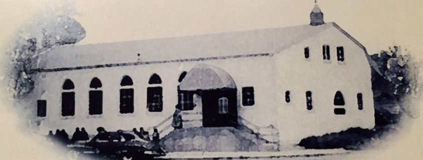 The church building at 3200 London Street circa 1940s.